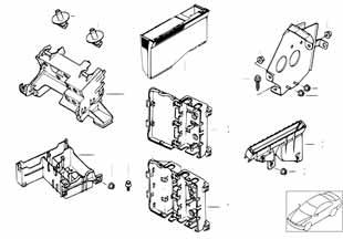 Каррера 1989-1992 Блок управления абс  заказать