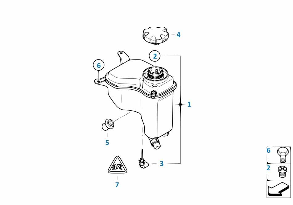 Винт для удаления воздуха системы охлаждения Бмв Е81 1 серия