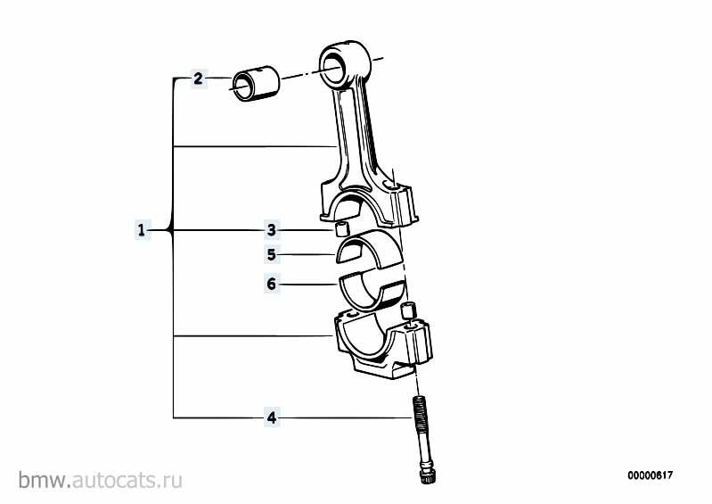 3 2014-2016 Вкладыш шатунный  заказать