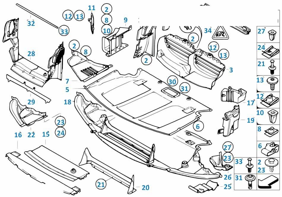 Воздуховод различные Бмв Е87 ЛСi 1 серия