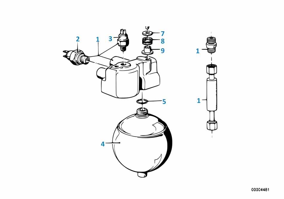 Т9 2013-2016 Выключатель индикатора давления масла  купить