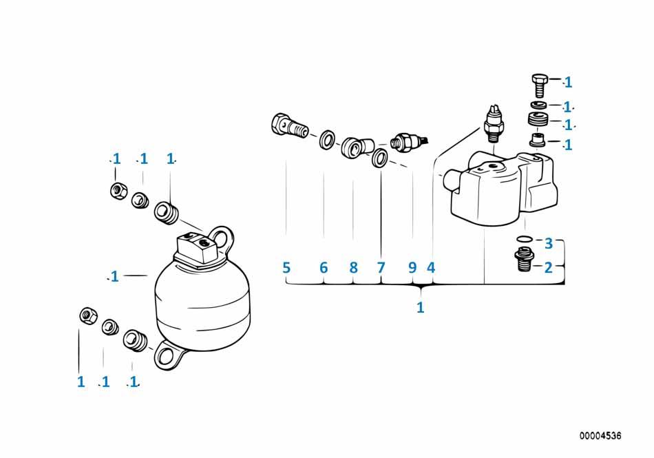 Е87 ЛСi выключатель индикатора давления масла  заказать
