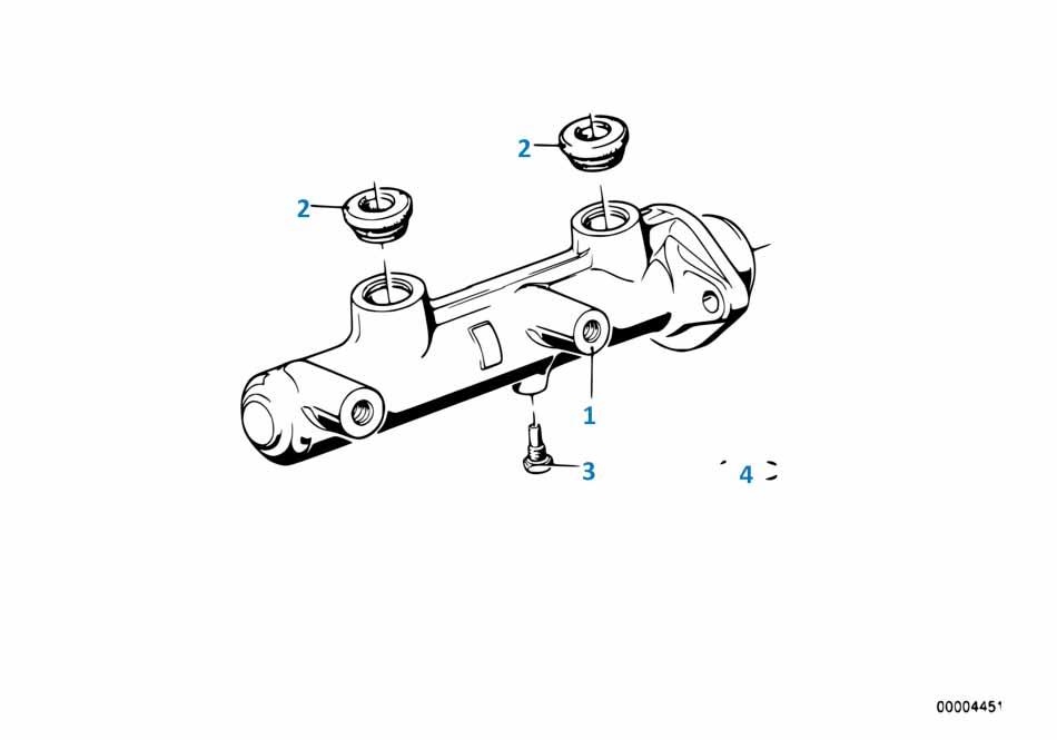 В447 2014-2016 Главный тормозной цилиндр  купить