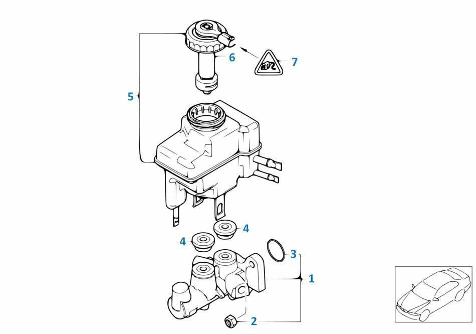 В447 2014-2016 Главный тормозной цилиндр  заказать