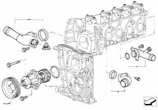 Е87 ЛСi датчик температуры двигателя  купить