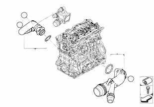 2 2014-2016 Двигатель valvetronic  купить