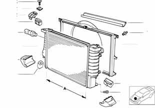 В463 2008-2012 Диффузор радиатора  купить