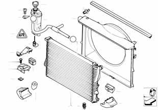 Диффузор радиатора  купить