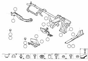 1 2001-2004 Защита мотора  заказать