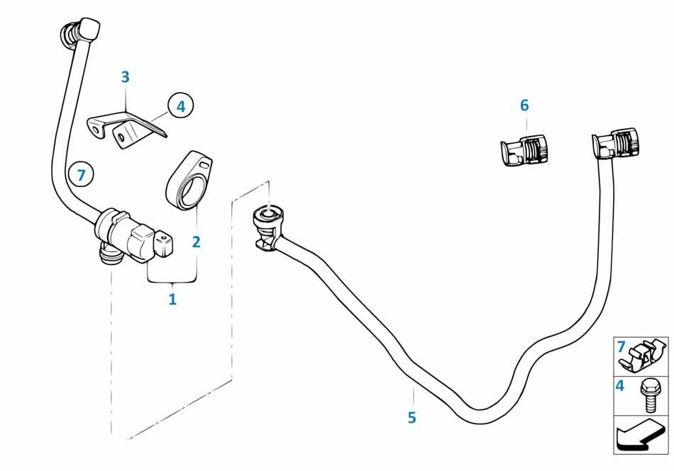 3 2013-2016 Клапан вентиляции топливного бака  заказать