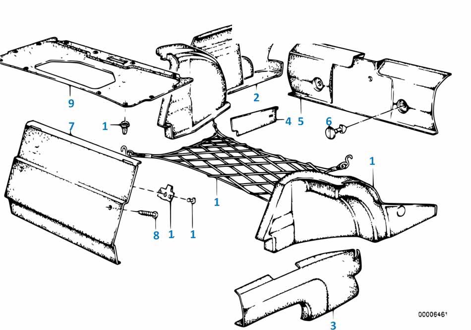 В415 2012-2016 Коврик в багажник  купить