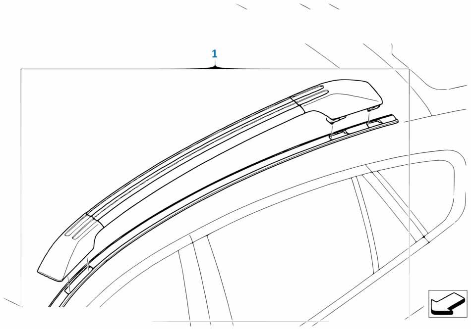 В415 2012-2016 Коврик в багажник  заказать