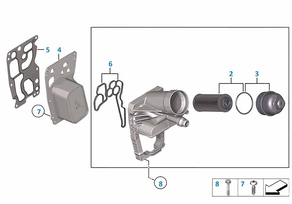 Теплообменник для масла двигателя бмв теплообменники для когенерации
