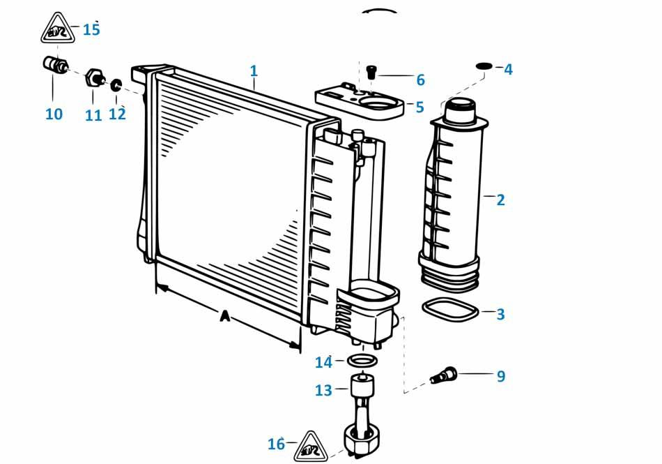 1 1988-1994 Крышка расширительного бачка радиатора  купить