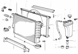 1 1988-1994 Крышка расширительного бачка радиатора  заказать