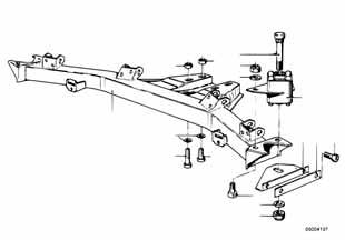 Е87 опора задних амортизаторов  заказать
