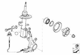 Е87 ЛСi опора передних амортизаторов  купить