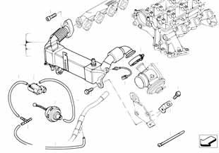 Патрубок системы нейтрализации ог Форд 1 2008-2013 Kuga