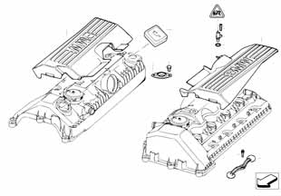 Е87 прокладка клапанной крышки  купить