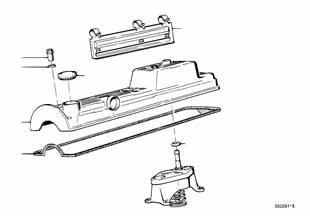 Е87 ЛСi прокладка клапанной крышки  заказать