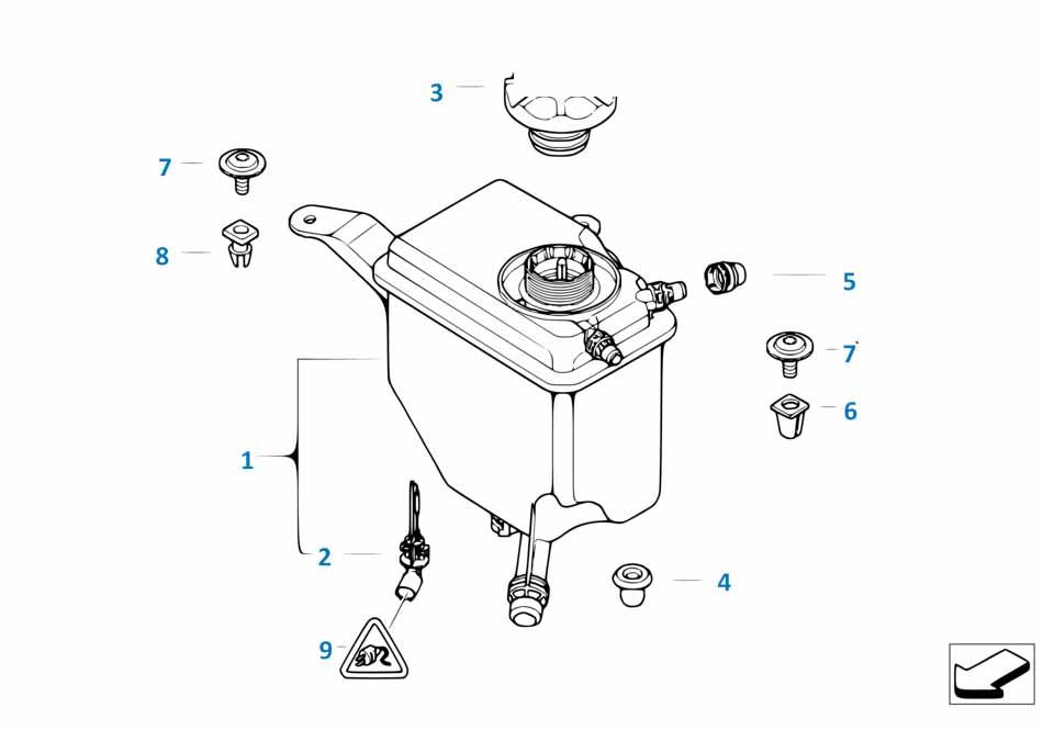Радиатор Бмв Е64 6 серия