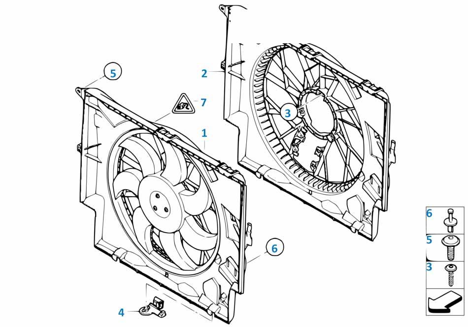 Радиатор Бмв Е81 1 серия