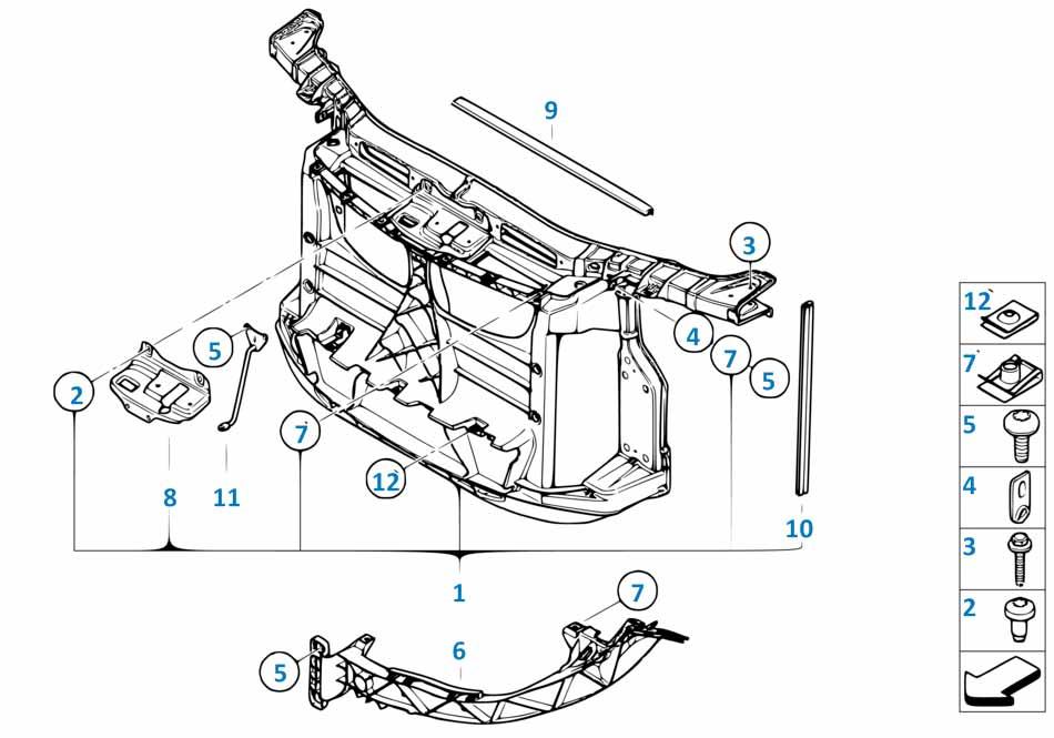 Радиатор Бмв Е82 1 серия