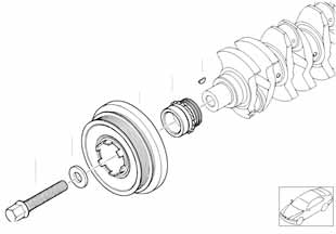 Е87 ЛСi ремнь привода кондиционера  купить
