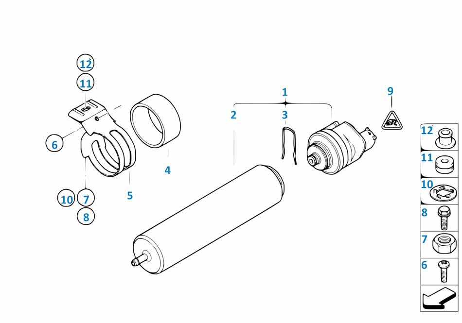Топливный фильтр Бмв Е81 1 серия