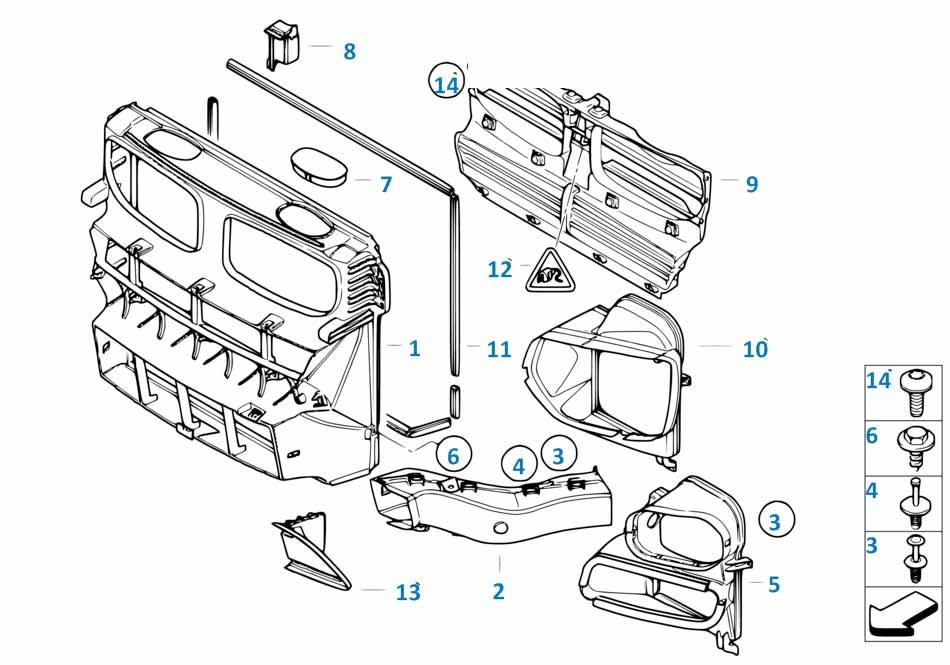 Уплотнитель масляного радиатора акпп  Бмв Е82 1 серия