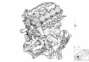 Цепь моторная Бмв Е82 1 серия