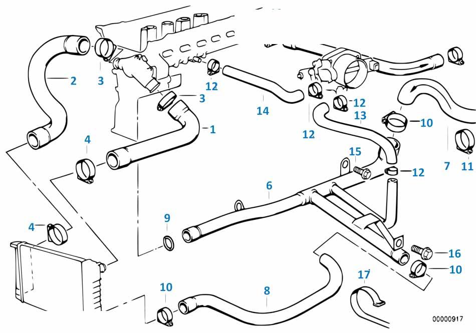 Шланг акпп Порше ГТС 2012-2016 Boxster