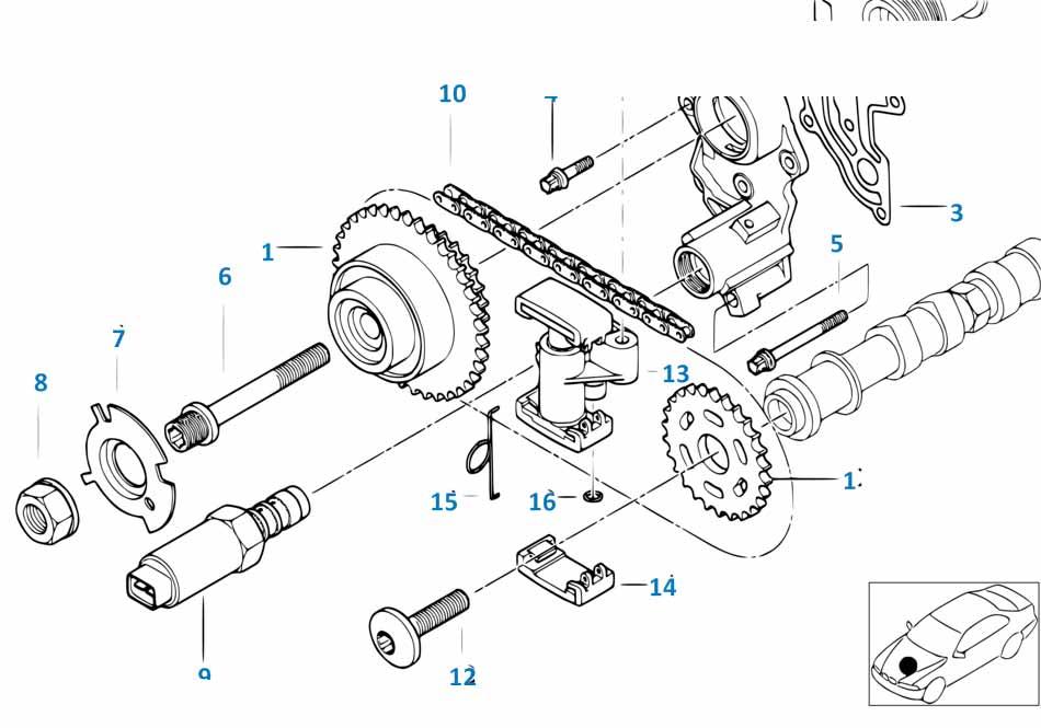 Е87 ЛСi электромагнитный клапан  купить